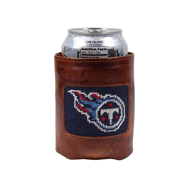 Tennessee Titans Needlepoint Can Holder by Smathers & Branson
