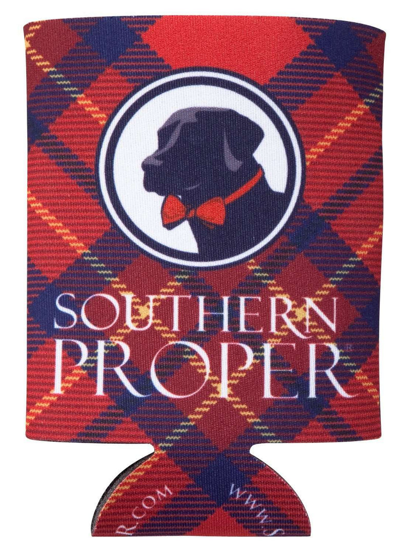 Tipsy and Tied Can Holder in Red by Southern Proper