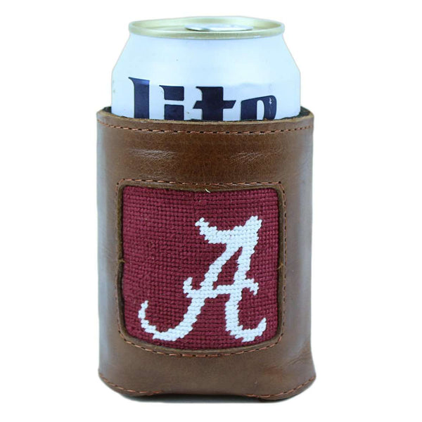 Can Holders - University Of Alabama Needlepoint Can Holder By Smathers & Branson