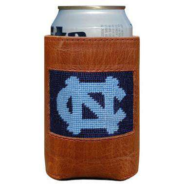 Can Holders - University Of North Carolina Needlepoint Can Holder By Smathers & Branson