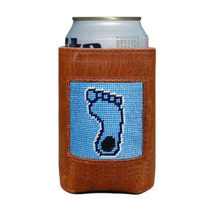 Can Holders - University Of North Carolina Tarheel Needlepoint Can Holder By Smathers & Branson
