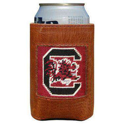 Can Holders - University Of South Carolina Needlepoint Can Holder By Smathers & Branson