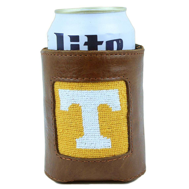 Can Holders - University Of Tennessee Needlepoint Can Holder By Smathers & Branson