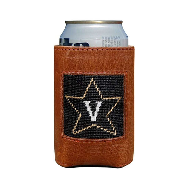 Vanderbilt University Needlepoint Can Holder by Smathers & Branson