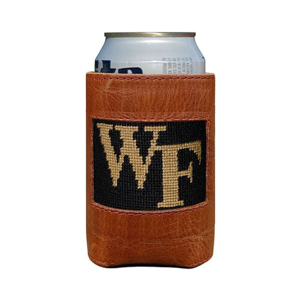 Wake Forest Needlepoint Can Holder by Smathers & Branson