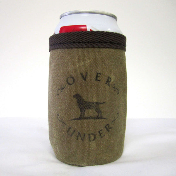 Can Holders - Wax Canvas Can Holder By Over And Under Clothing