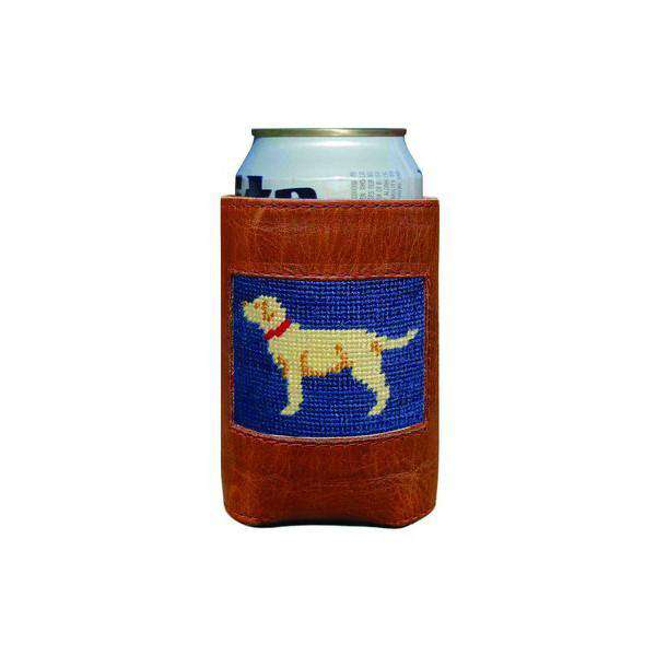 Can Holders - Yellow Lab Needlepoint Can Holder By Smathers & Branson