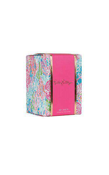 Glass Candle in Let's Cha Cha by Lilly Pulitzer