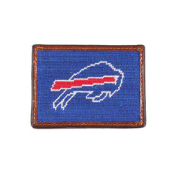 Buffalo Bills Needlepoint Credit Card Wallet by Smathers & Branson