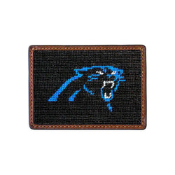 Carolina Panthers Needlepoint Credit Card Wallet by Smathers & Branson