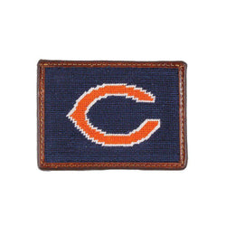 Chicago Bears Needlepoint Credit Card Wallet by Smathers & Branson