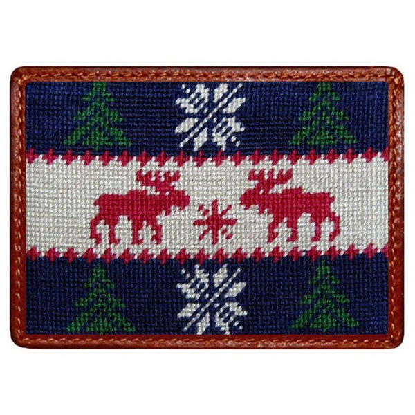 Card Wallets - Christmas Sweater Credit Card Wallet By Smathers & Branson