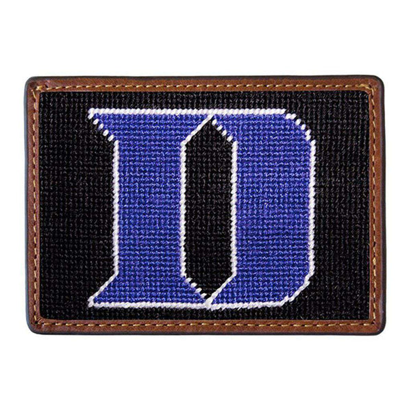 Card Wallets - Duke University Needlepoint Credit Card Wallet By Smathers & Branson