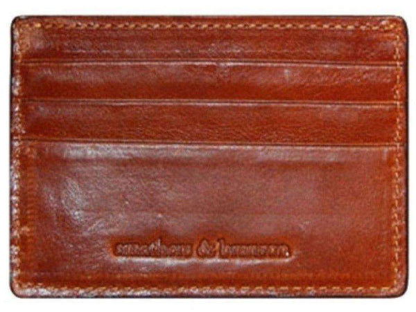 Gadsden Credit Card Wallet in Yellow by Smathers & Branson