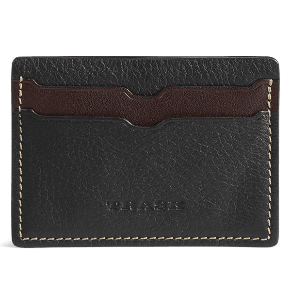Jackson Weekender Credit Card Wallet in Black Elk by Trask