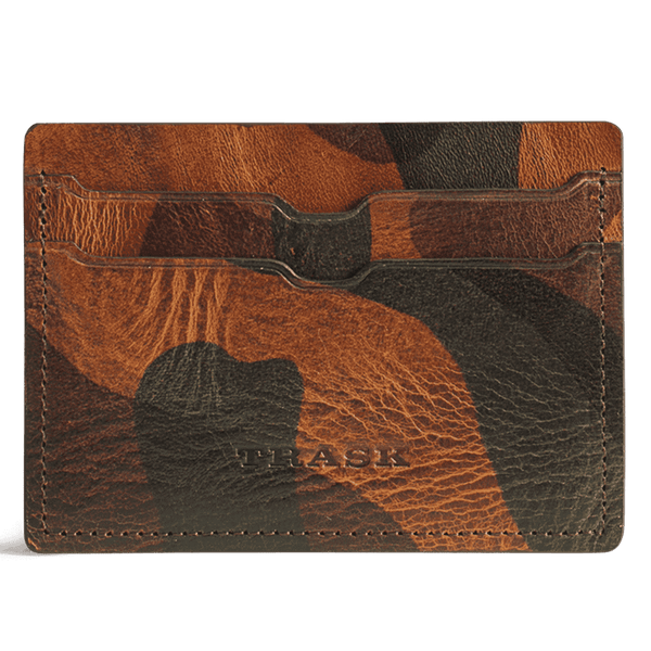 Jackson Weekender Credit Card Wallet in Camo Steer by Trask