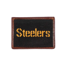 Pittsburgh Steelers Needlepoint Credit Card Wallet by Smathers & Branson