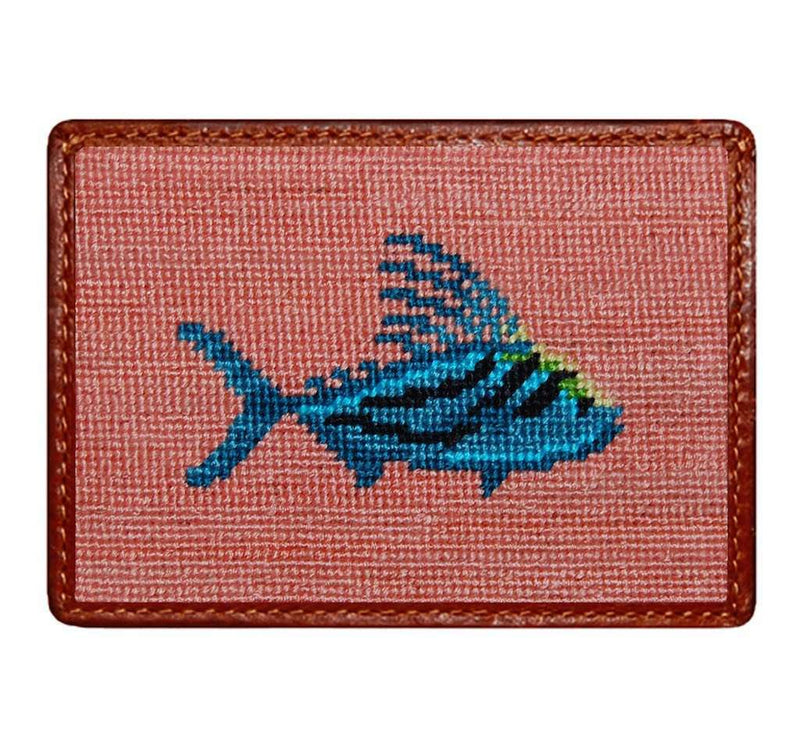 Card Wallets - Roosterfish Credit Card Wallet In Bermuda Sand By Smathers & Branson