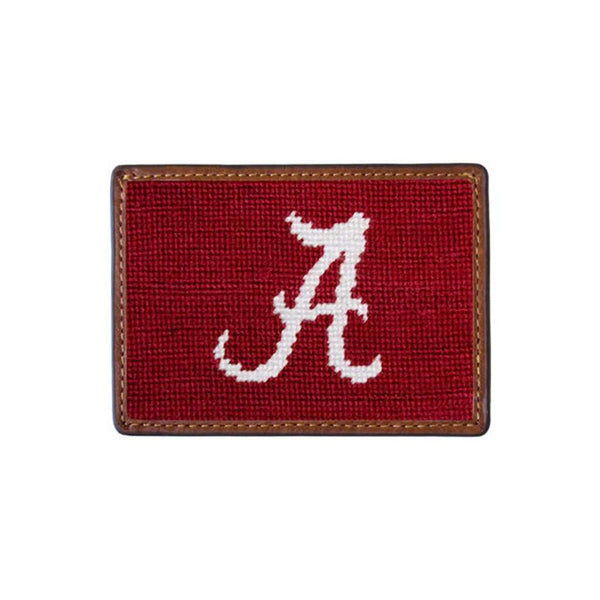 Card Wallets - University Of Alabama Needlepoint Credit Card Wallet By Smathers & Branson