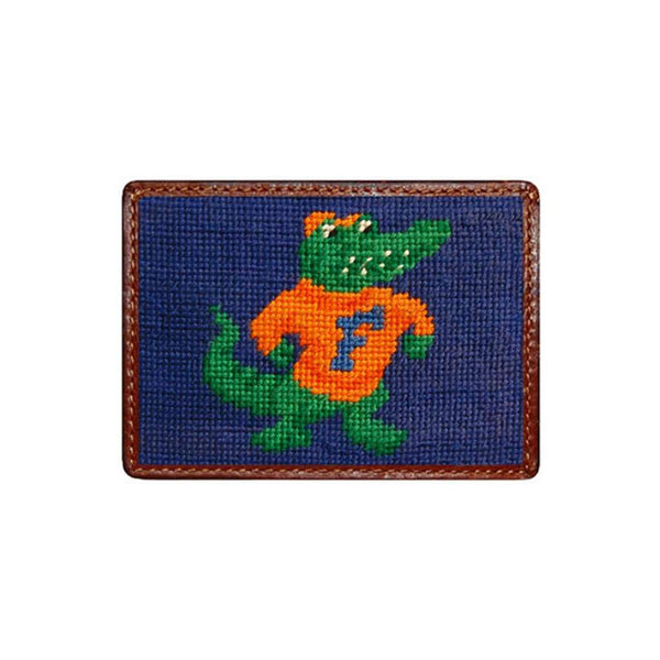 Card Wallets - University Of Florida Needlepoint Credit Card Wallet By Smathers & Branson