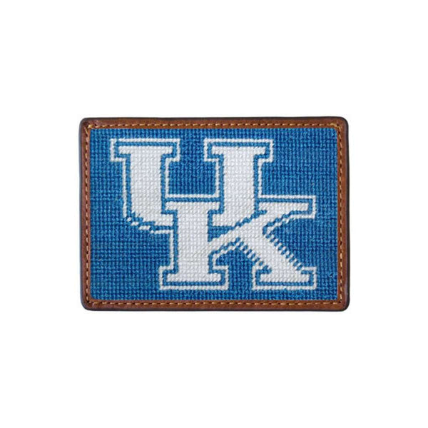 Card Wallets - University Of Kentucky Needlepoint Credit Card Wallet By Smathers & Branson