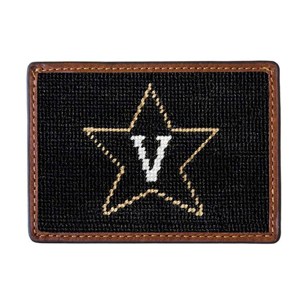 Vanderbilt University Needlepoint Credit Card Wallet by Smathers & Branson