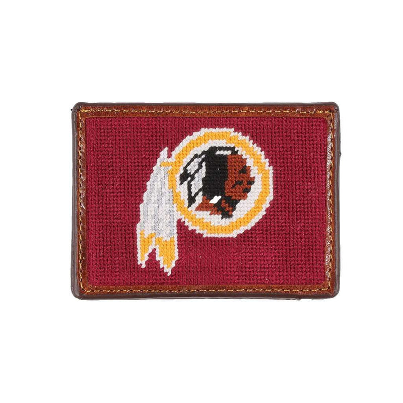 Washington Redskins Needlepoint Credit Card Wallet by Smathers & Branson