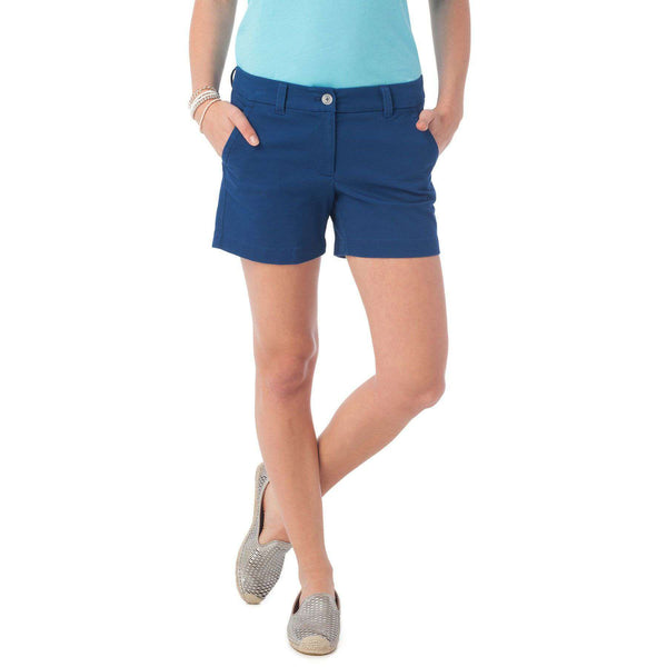 "5"" Caroline Short in Yacht Blue by Southern Tide  - 1"