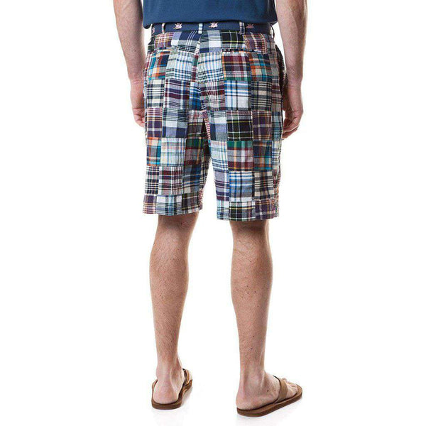 Cisco Short in Montauk Patch Madras by Castaway Clothing - FINAL SALE