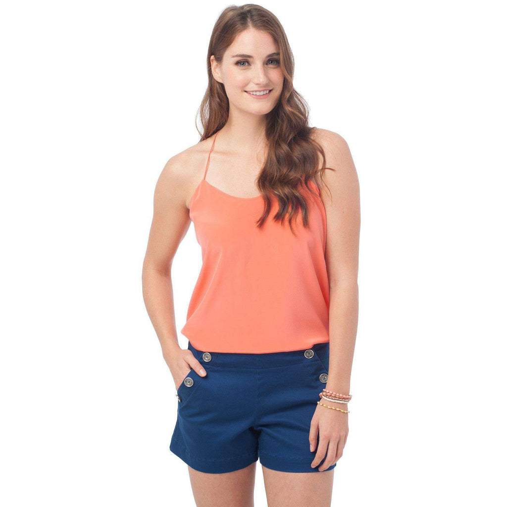 Chloe Silk Cami in Mai Tai by Southern Tide  - 1