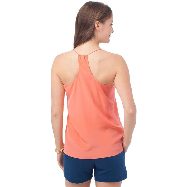 Chloe Silk Cami in Mai Tai by Southern Tide - FINAL SALE