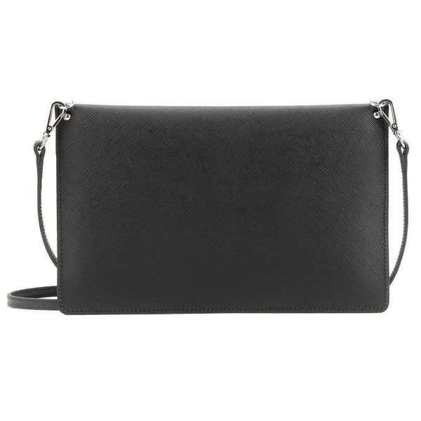 Crossbody Clutch in Black by Lancaster Paris