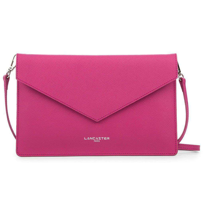 Clutches - Crossbody Clutch In Fuschia By Lancaster Paris