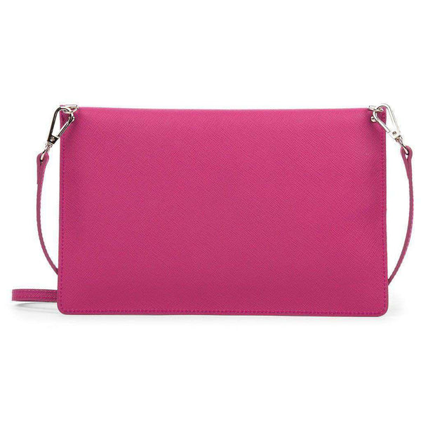 Crossbody Clutch in Fuschia by Lancaster Paris