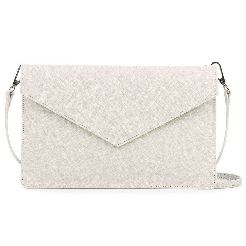 Crossbody Clutch in Ivory by Lancaster Paris