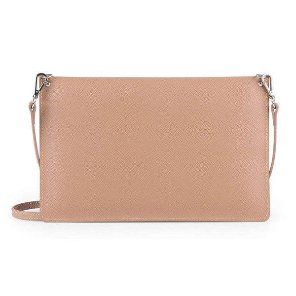 Crossbody Clutch in Nude by Lancaster Paris