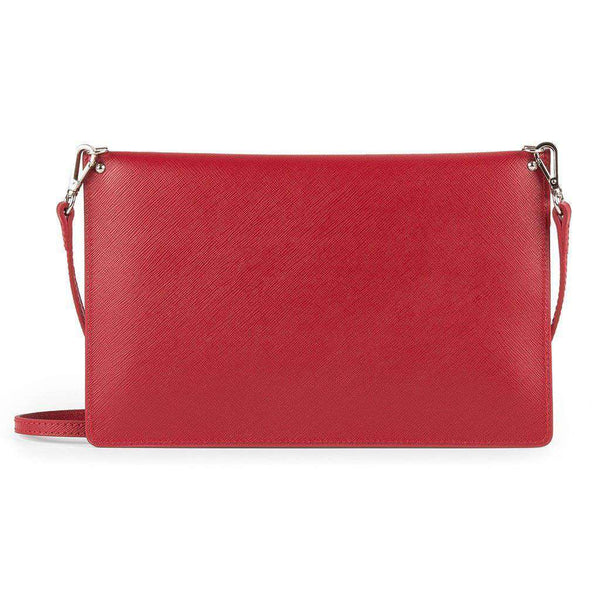 Crossbody Clutch in Red by Lancaster Paris