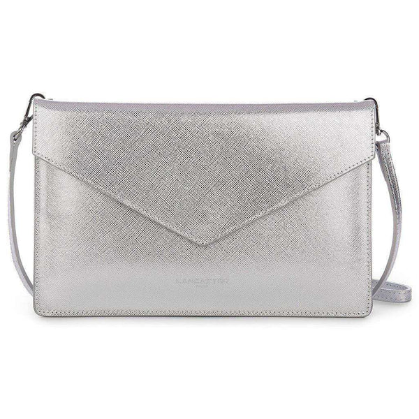 Crossbody Clutch in Silver by Lancaster Paris
