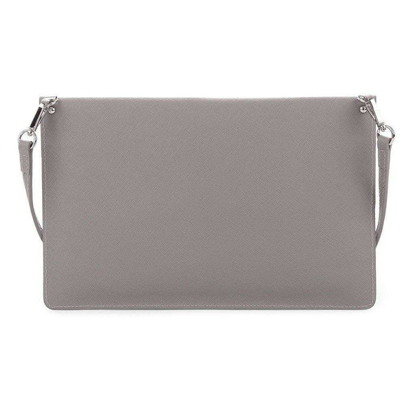 Crossbody Clutch in Warm Grey by Lancaster Paris