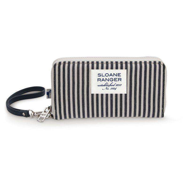 Denim Stripe Smartphone Wristlet by Sloane Ranger - FINAL SALE