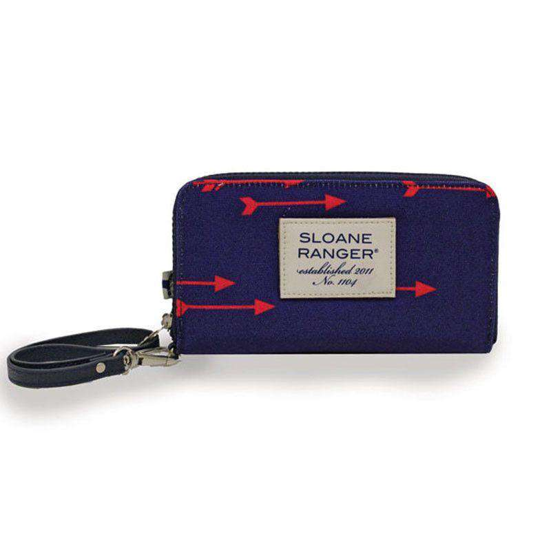 Clutches - English Arrow Smartphone Wristlet By Sloane Ranger