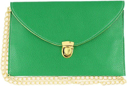 Clutches - Envelope Clutch In Green By Pink Pineapple