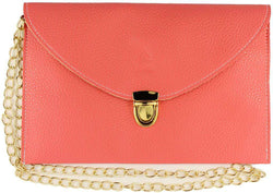 Clutches - Envelope Clutch In Rose By Pink Pineapple