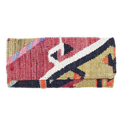 Clutches - Kilim Clutch Purse In Turkish Tan By Res Ipsa