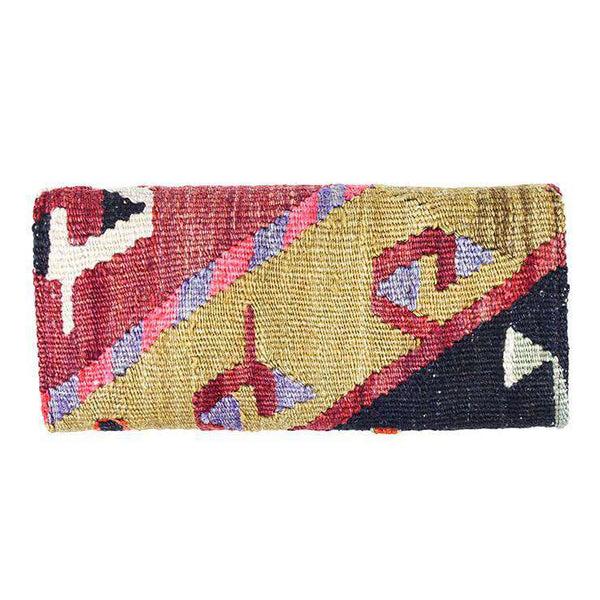 Kilim Clutch Purse in Turkish Tan by Res Ipsa