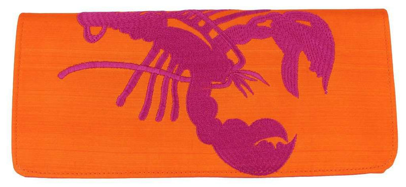 Clutches - Langoustine Clutch In Orange By Shiraleah