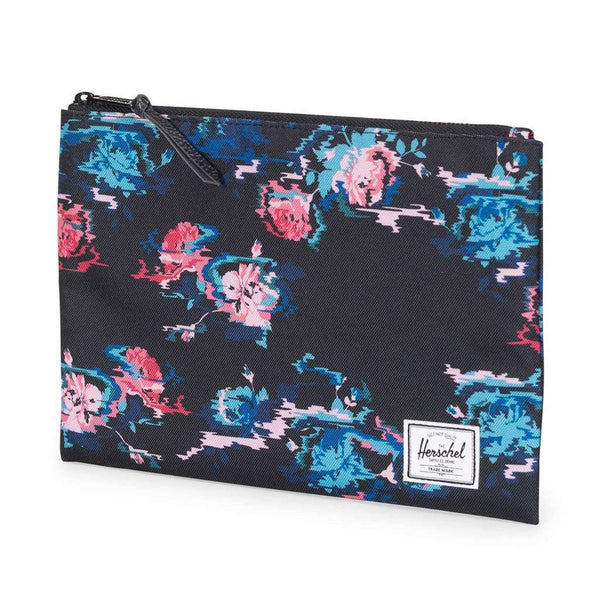 Large Network Pouch in Floral Blur by Herschel Supply Co.