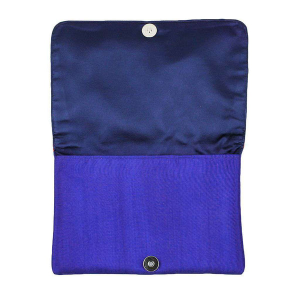 Tina Clutch in Royal Blue by Shiraleah