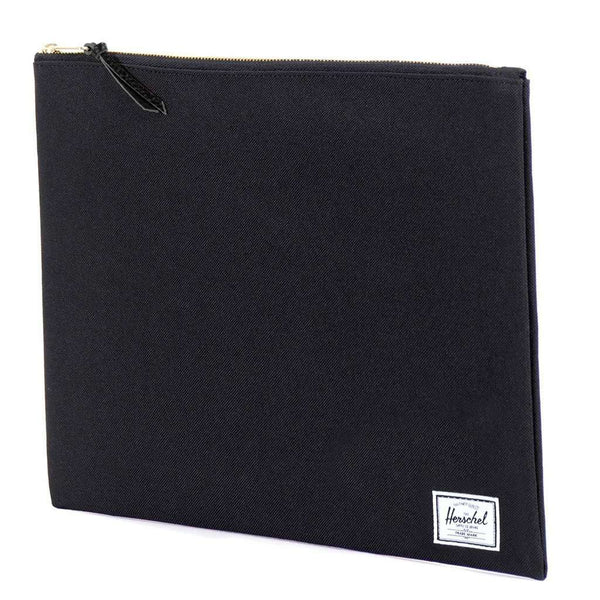 Clutches - XL Network Pouch In Black By Herschel Supply Co.