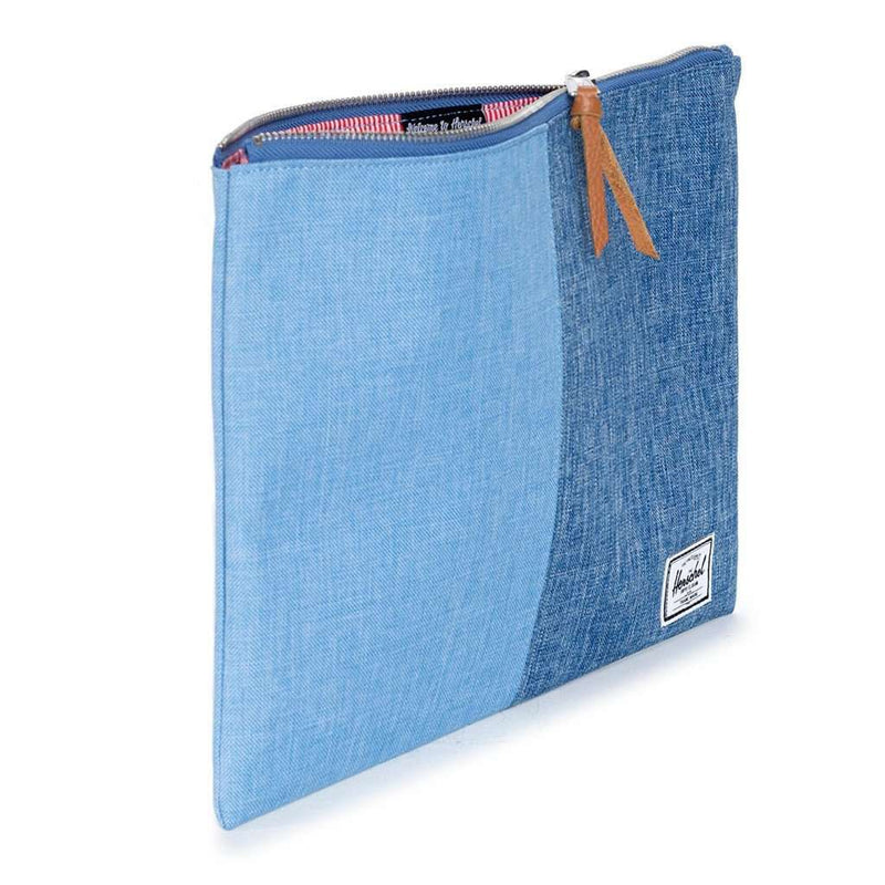 XL Network Pouch in Chambray Crosshatch by Herschel Supply Co.